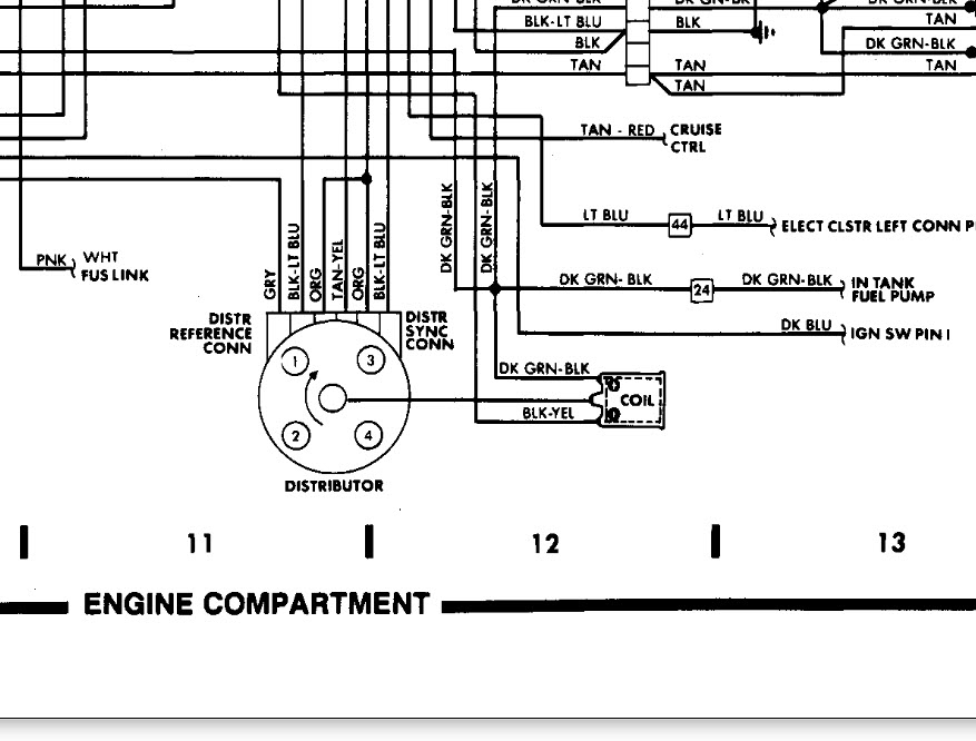 1994 CHRYSLER LEBARON WIRING DIAGRAM - Auto Electrical Wiring Diagram