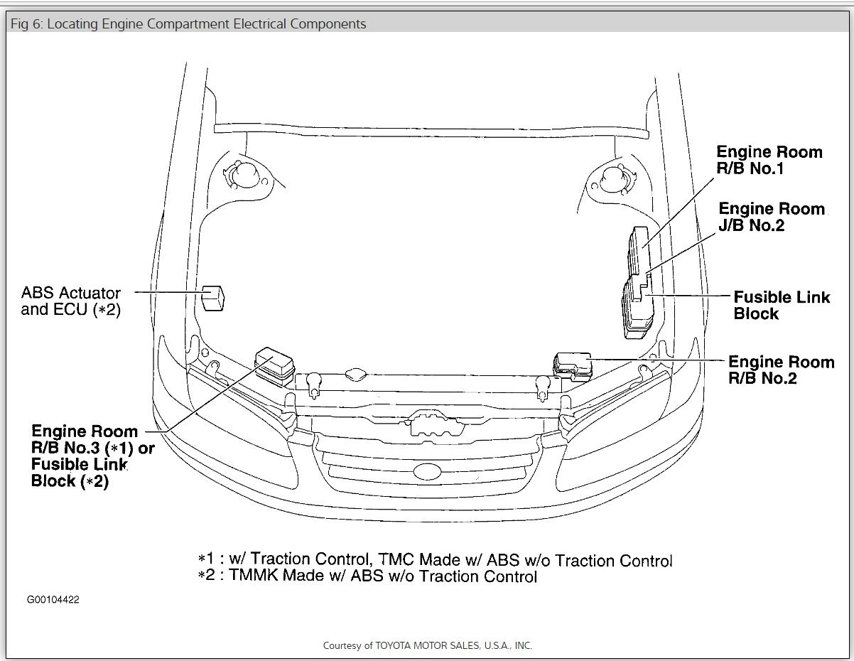 2001 camry fuse diagram