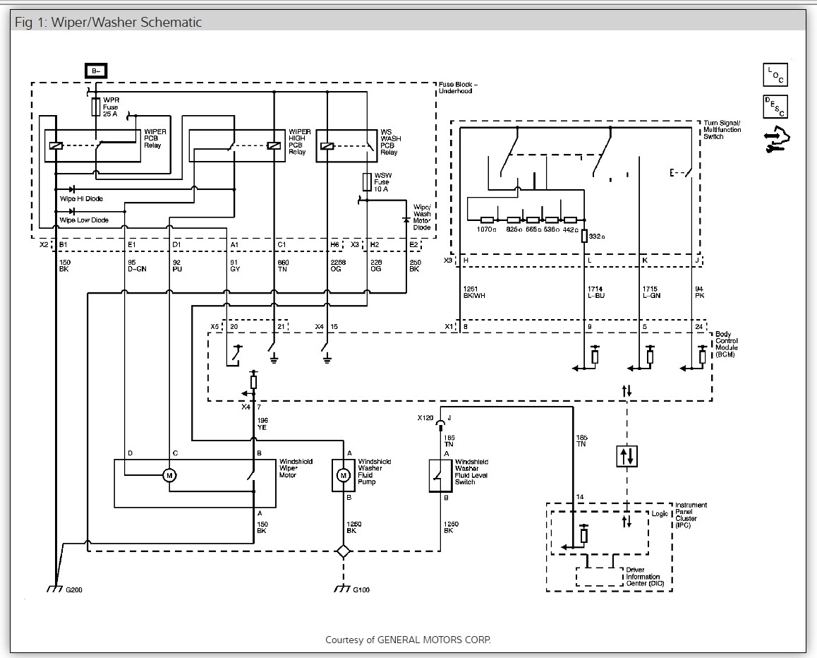 2008 impala wiring diagram