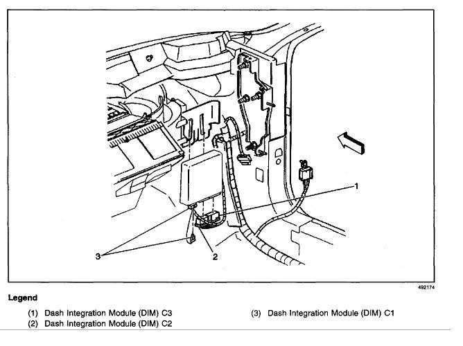 Schaltplang 2000 pontiac bonneville