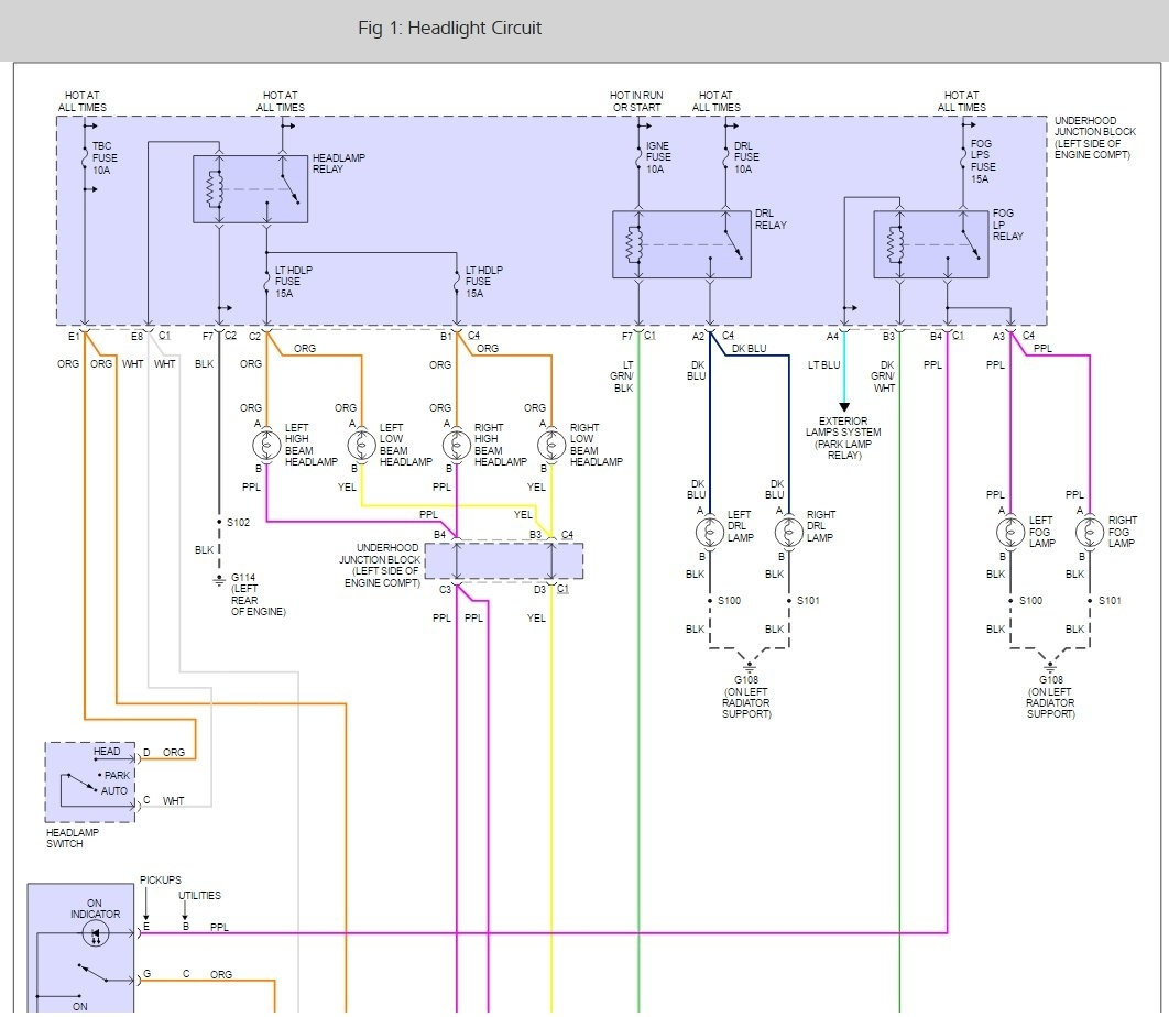 300c headlight wiring diagram