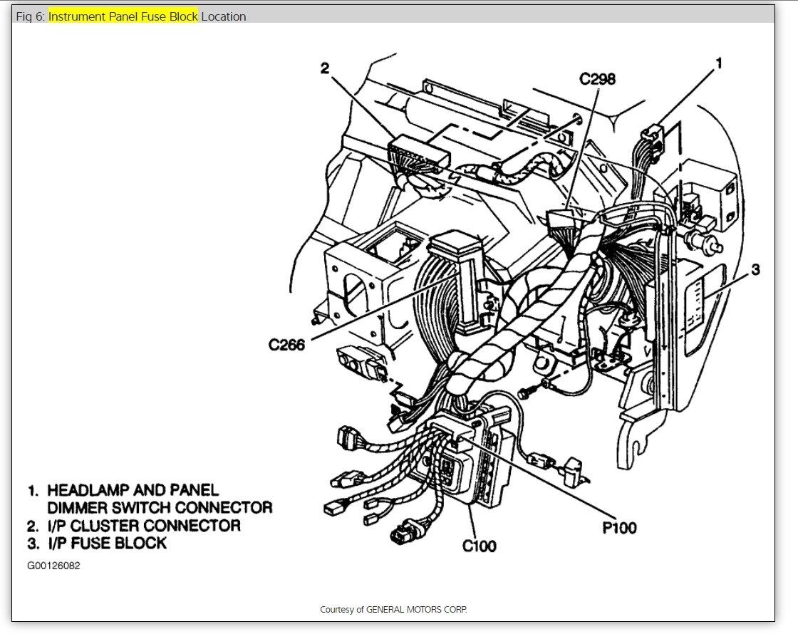 1996 chevy trailer wiring diagram