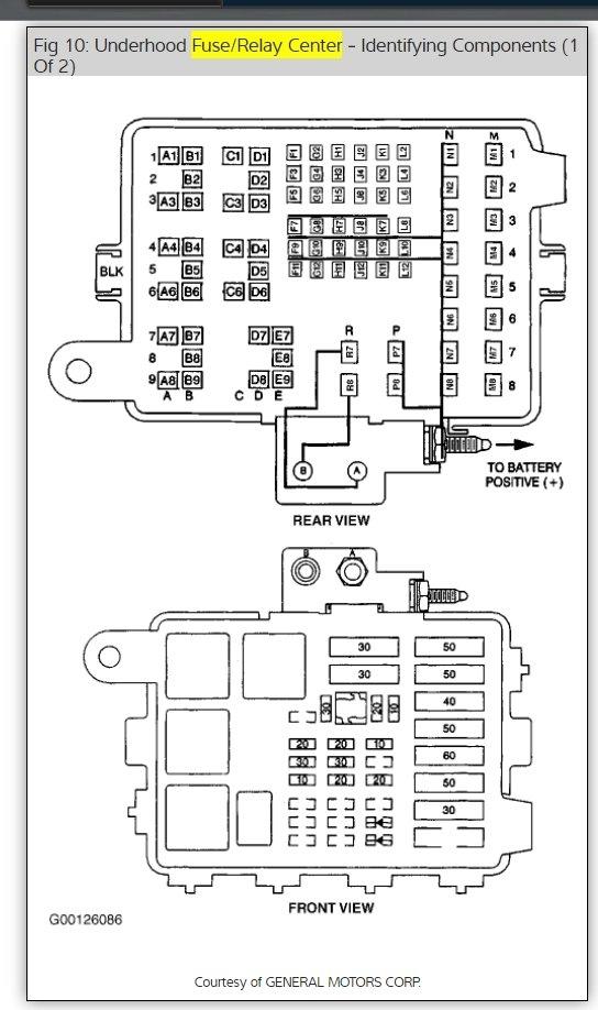 1988 chevy gmc g van wiring diagram original