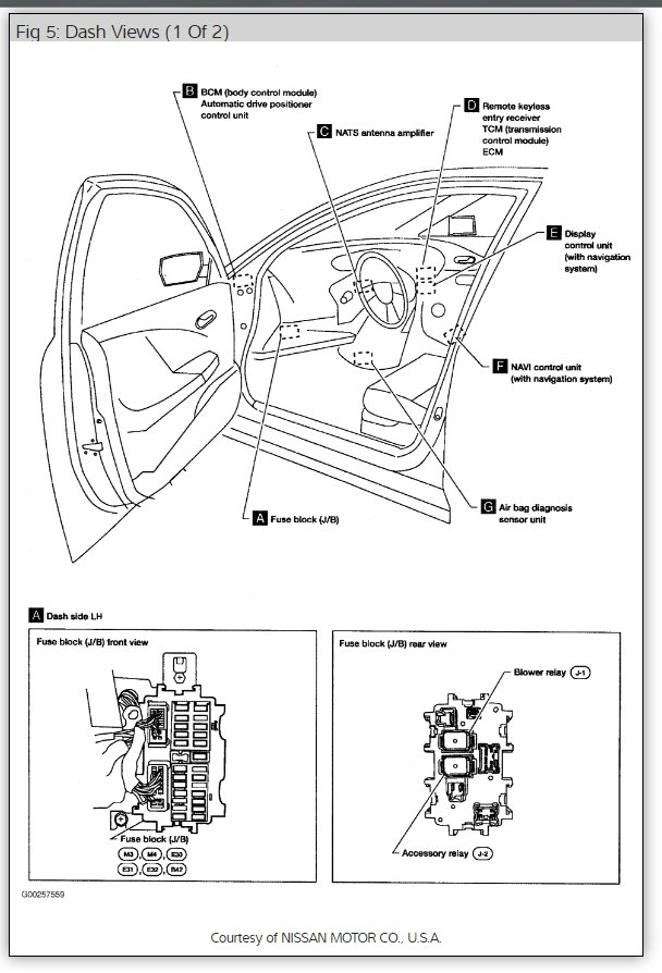 Ka24e Engine Wiring Diagram Rear Wiper Fuse Location I Have A 2005 Micra Which The