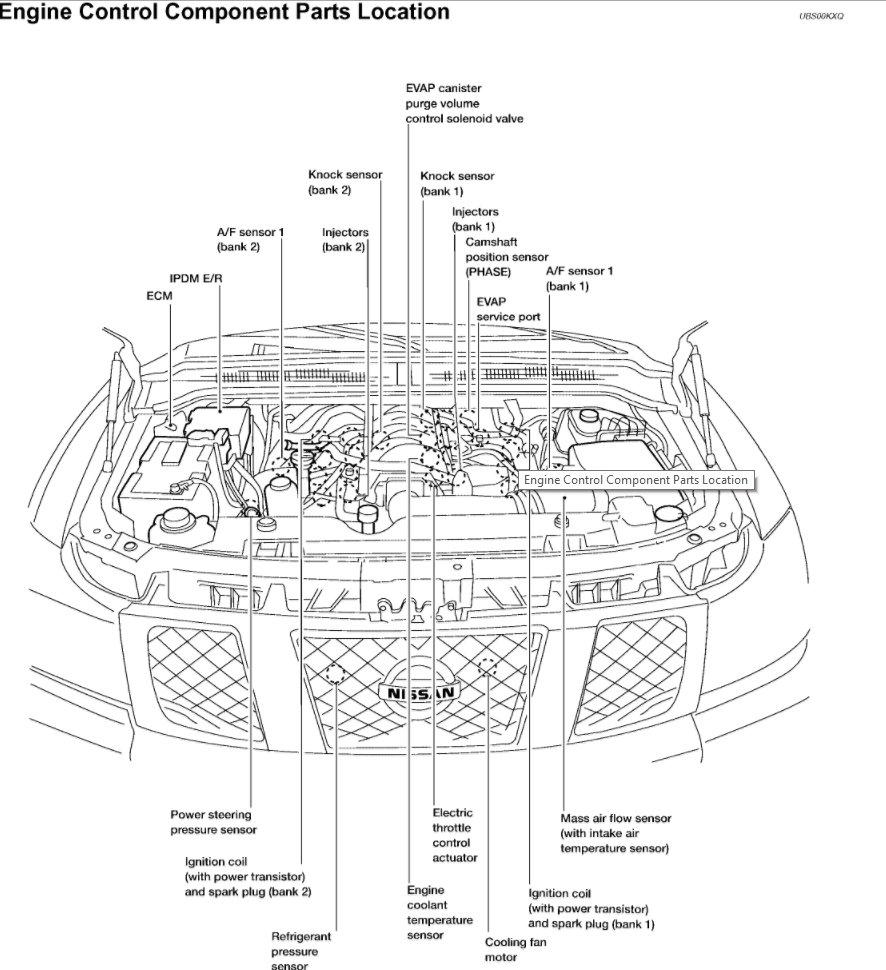 v8 engine diagram