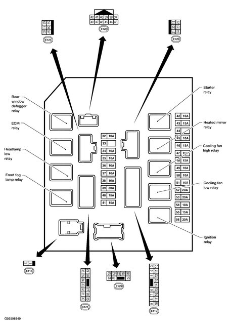 2010 infiniti m35 fuse box diagram