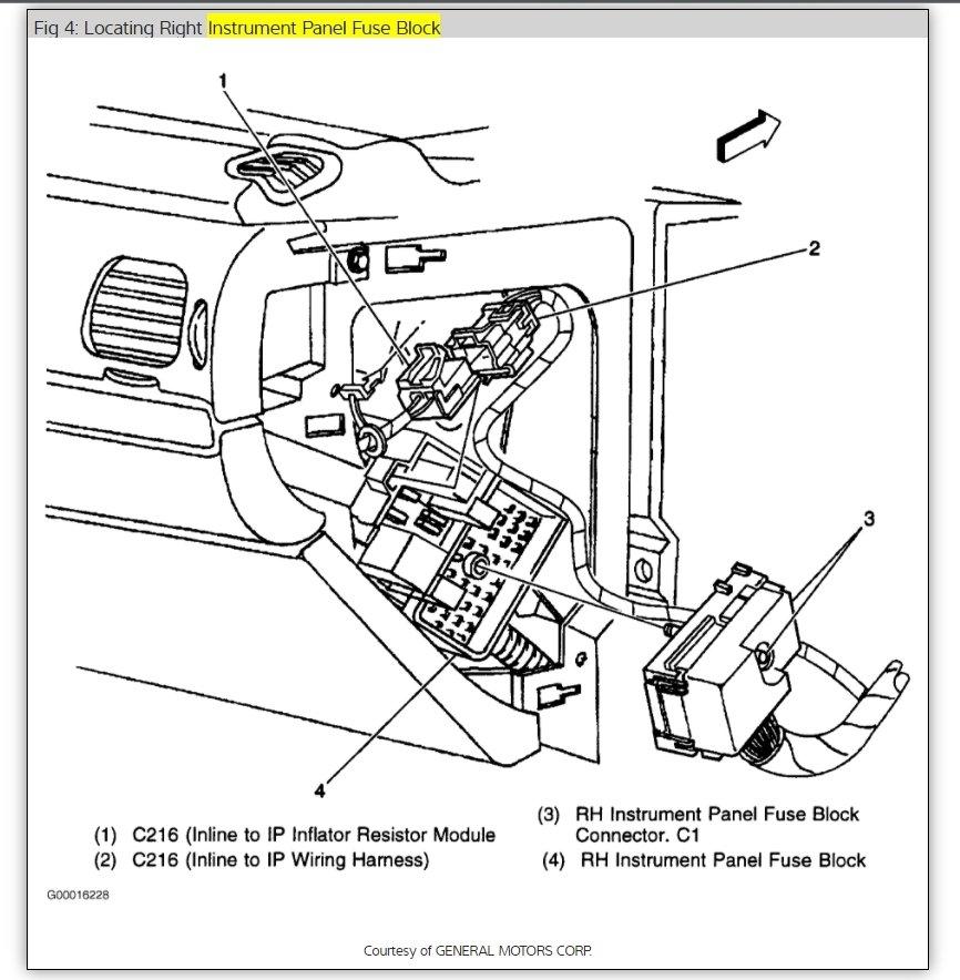 2000 Chevy Impala Alternator Wiring Wiring Diagram