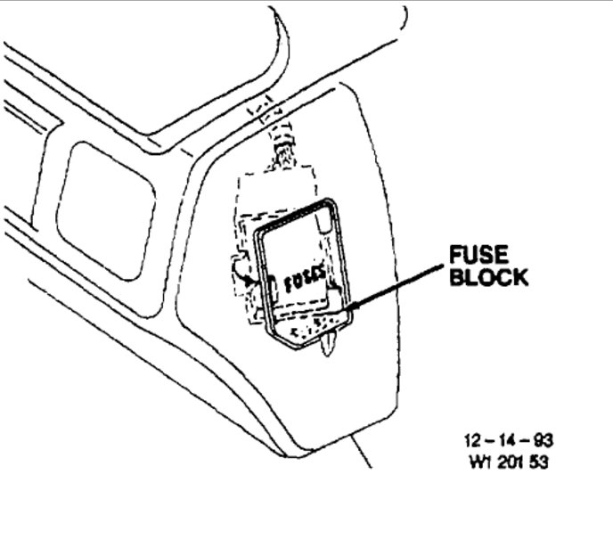 1984 Cutlass Fuse Box Diagram Wiring Diagram
