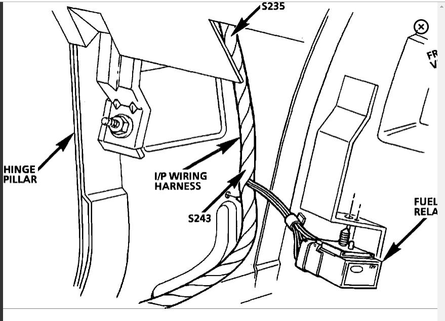 Fuel Pump Relay Location on a 94 Camaro V8