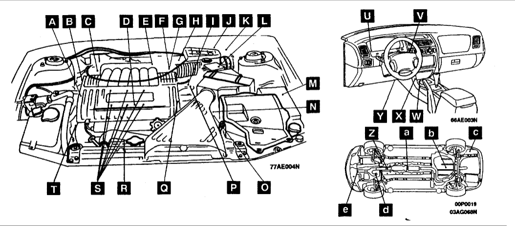 2003 mitsubishi diamante engine diagram