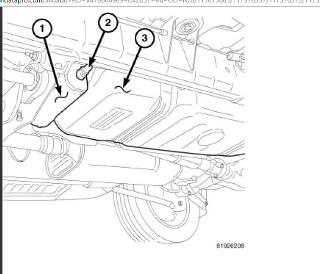 dodge durango air flow diagram