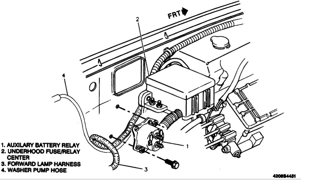 1994 chevy c1500 fuse box diagram