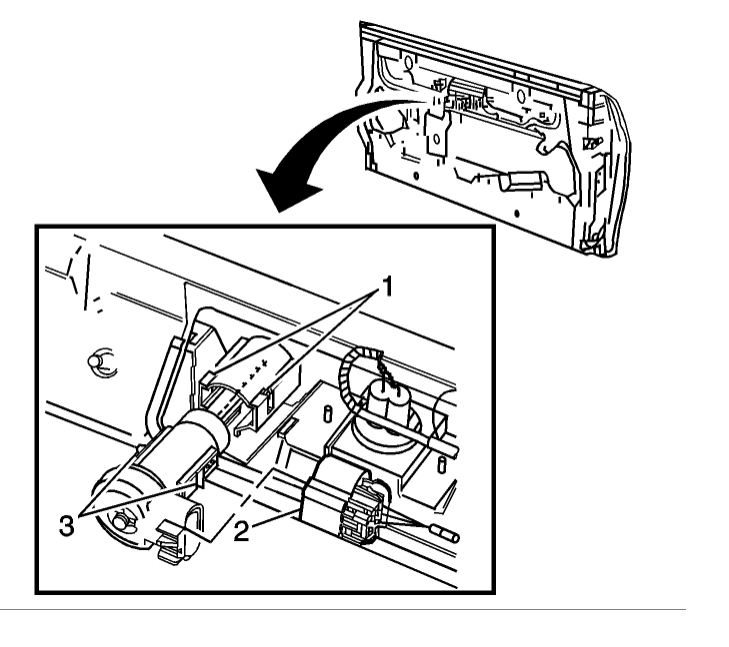 wire diagram for gmc envoy suv tailgate