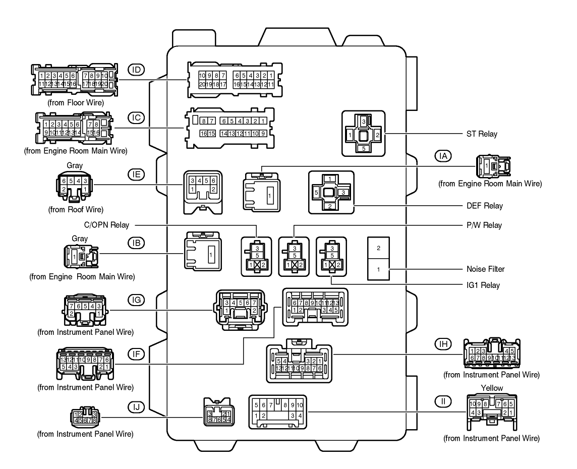 2000 Tacoma Wiring Diagram Horn Third Level Library Fog Light Switch