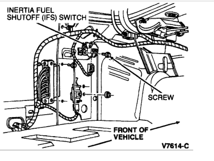 HOW TO RESET a FUEL PUMP SHUT OFF SWITCH