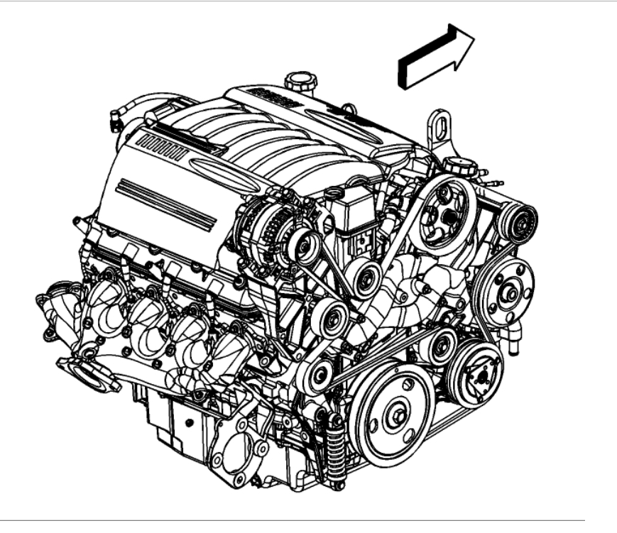 2007 chevrolet impala engine diagram