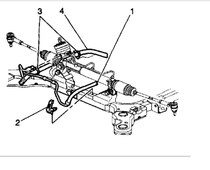 2001 oldsmobile power steering diagram