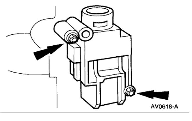 1999 mercury mountaineer fuel filter location