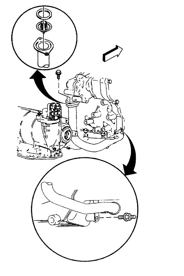2000 grand am Motor diagram