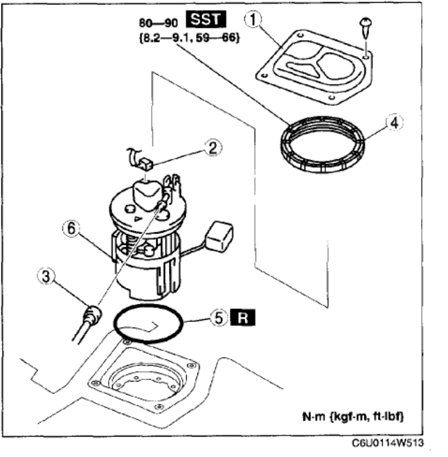 2002 Mazda 626 Fuel Filter Wiring Diagram