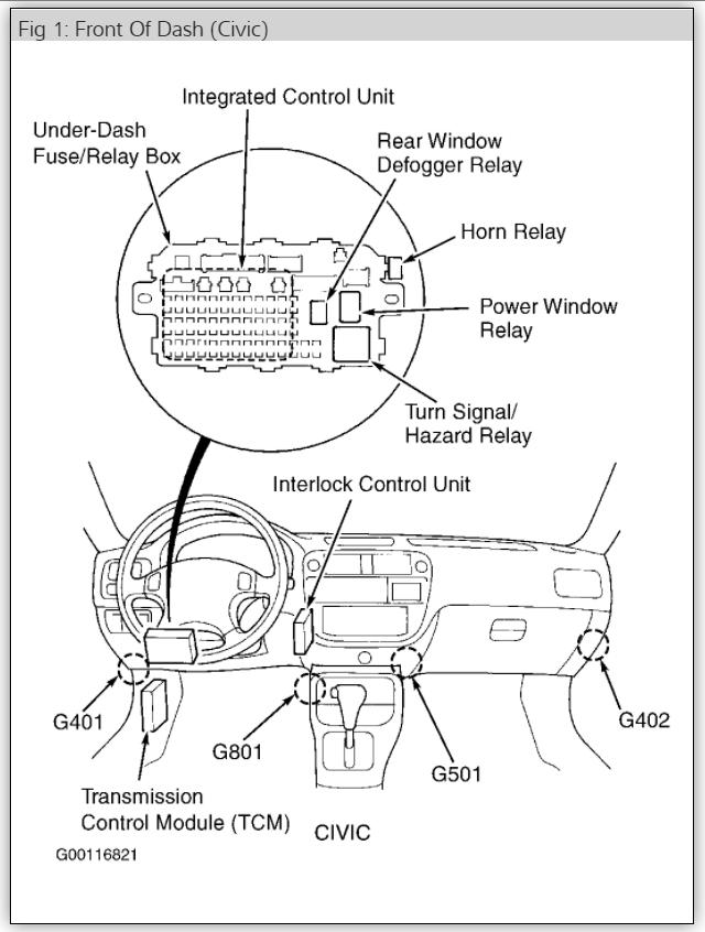 1003 honda civic fuse diagram
