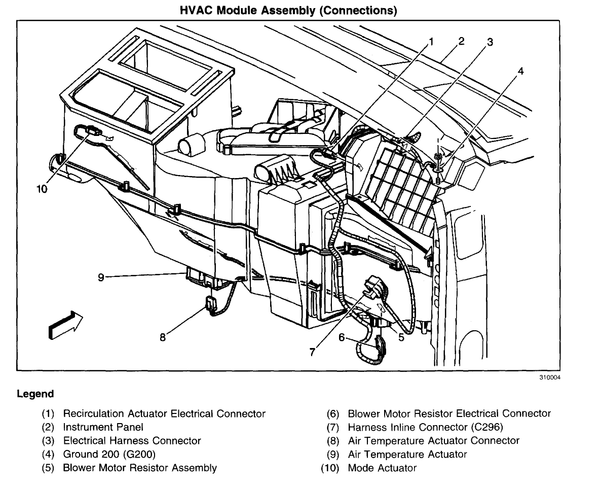 2003 chevrolet silverado actuator diagram