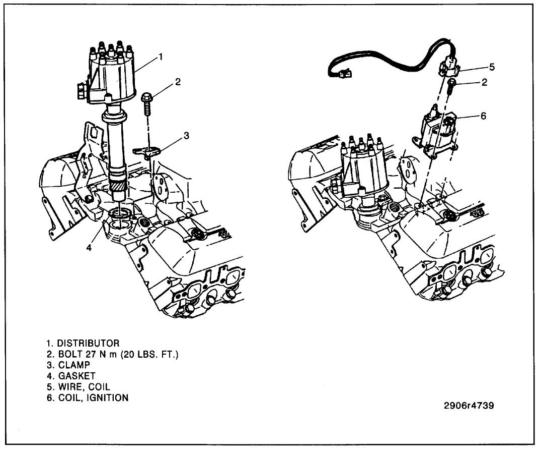 chevy engine 454 mechanical fuel pump diagram