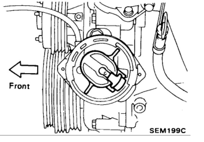 Cam Timing I Have a 1991 Nissan Truck W/ 24L (ka24e)engine I