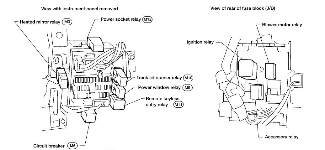wiring diagram for fan relay