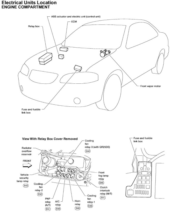1998 Nissan Altima Cooling Fan Wiring Diagram Wiring Diagram