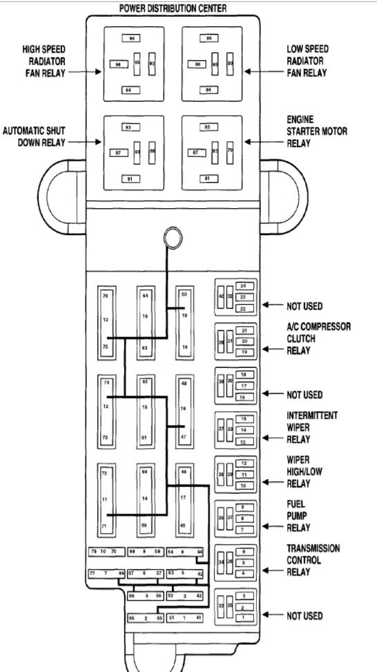2004 dodge stratus electrical diagram