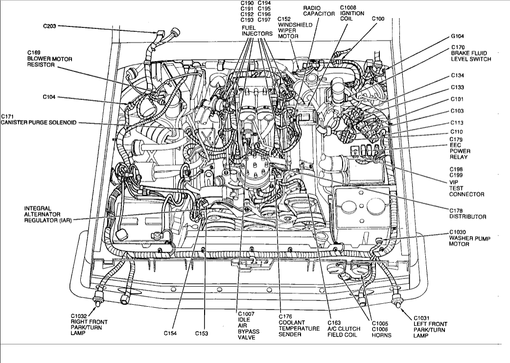 ford 50 fuel injection diagram