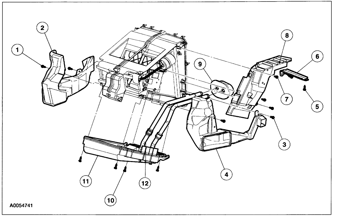 vacuum hose diagram 2002 ford explorer