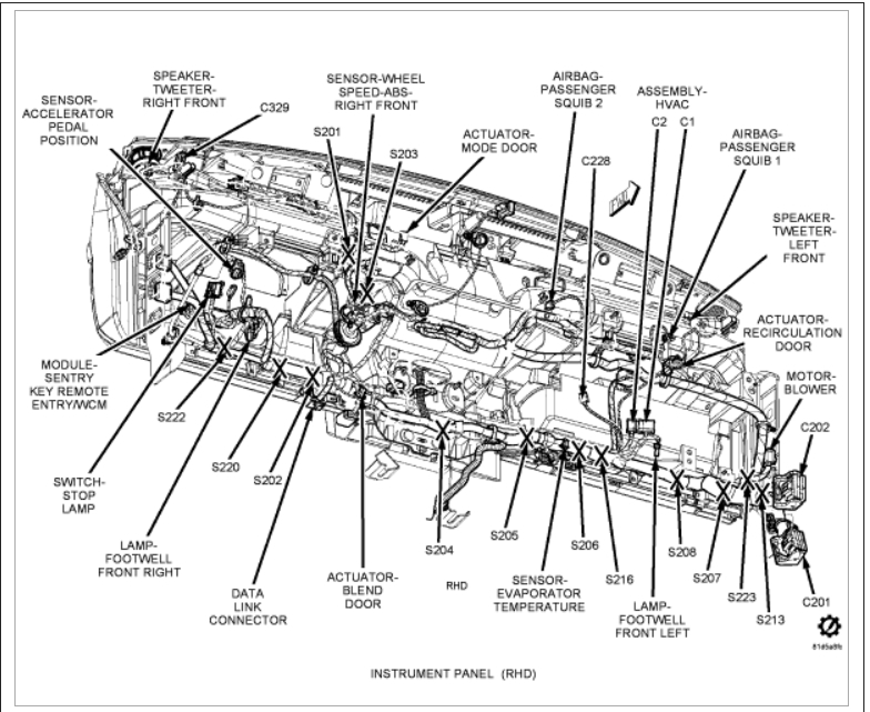 2002 jeep liberty heater diagram