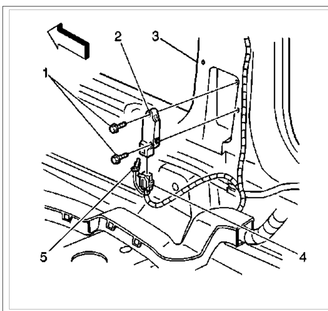Location of Air Bag Sensors Where Is the Location of the Air Bag