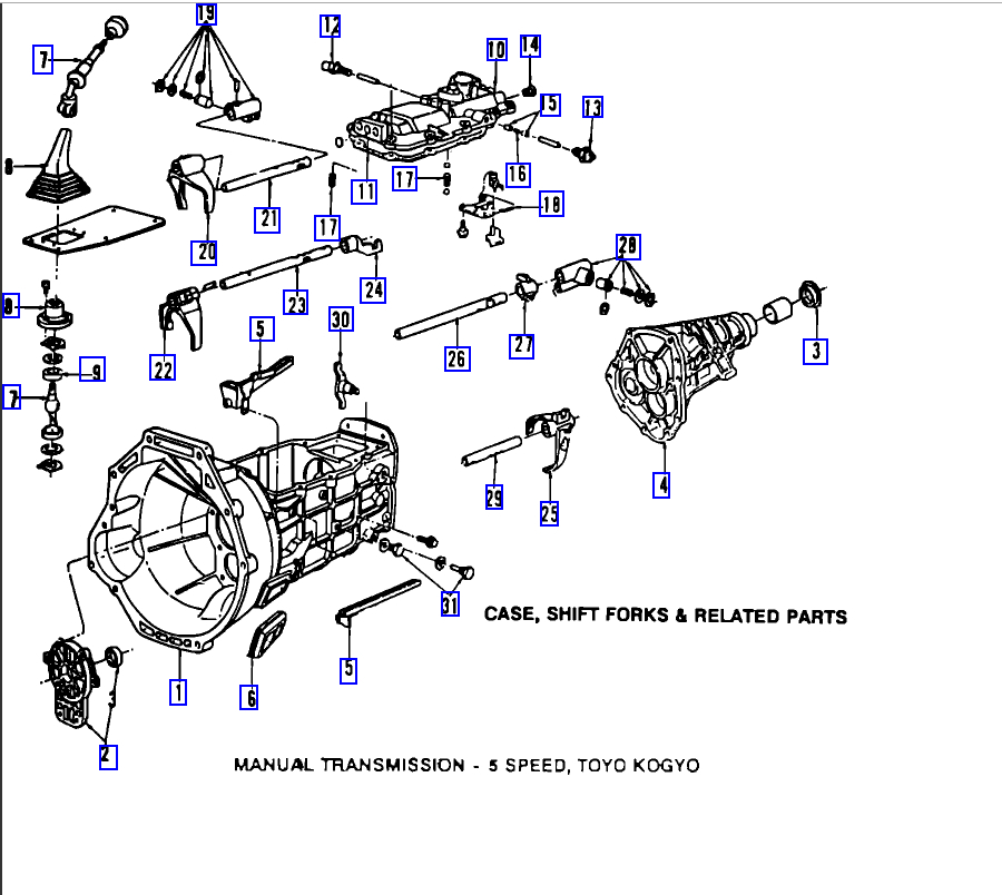 1995 mazda b3000 engine diagram