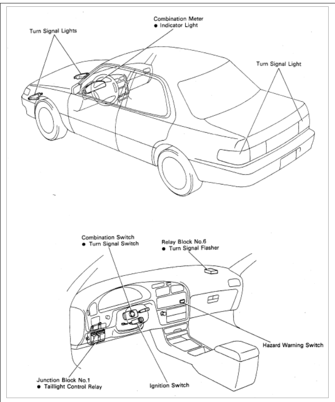 1992 toyota camry dash fuse box diagram