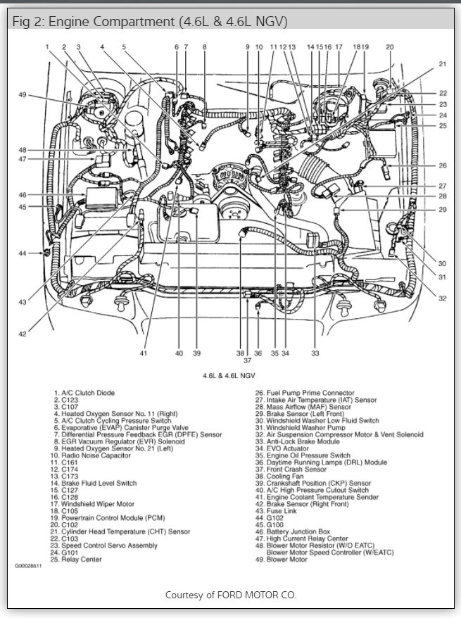 2008 ford crown victoria transmission wiring diagram