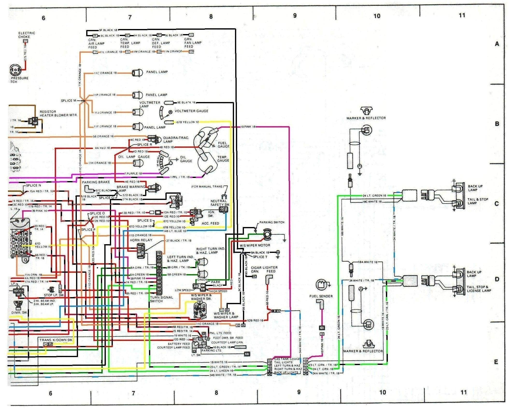 E4a Wiring Diagram For 1976 And 1977 Cj5 Jeep