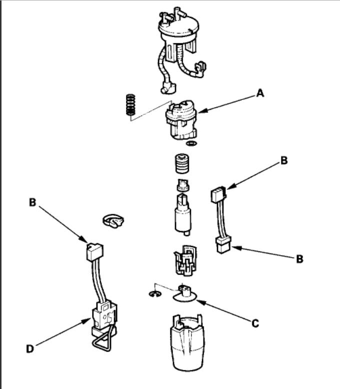 2003 Honda Odyssey Fuel Filter Location Wiring Diagram
