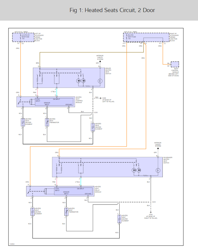 Power Seat Wiring Diagrams I Have a Pair of 2004 Chevy Impala