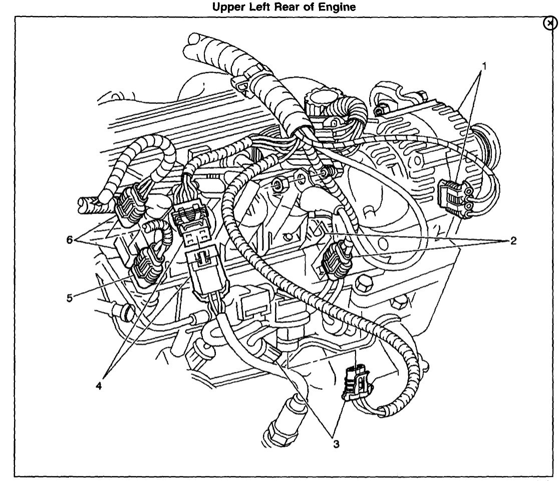 chevy oxygen sensor location