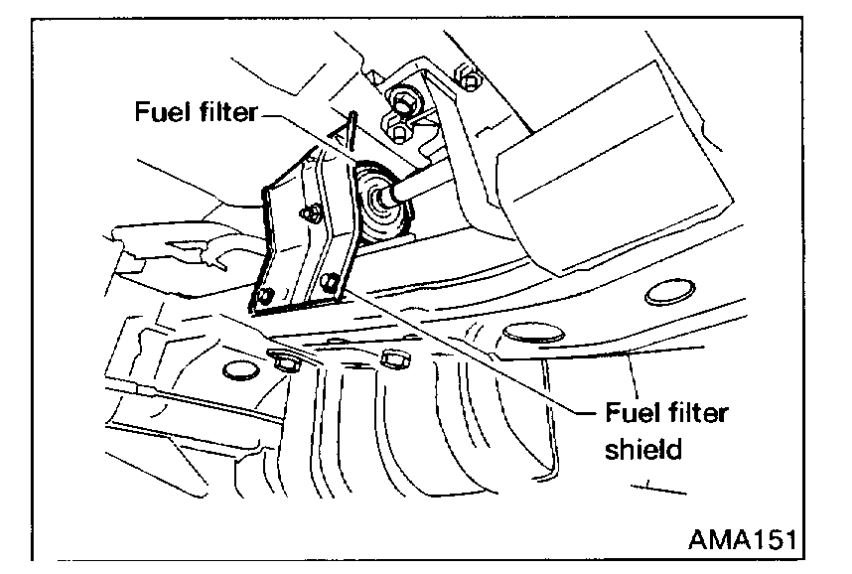 fuel filter replacement youtube