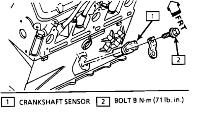 Crank Sensor Location Where Is the Crank Sensor on a 31 Motor?