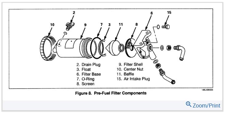 isuzu fuel filter light reset