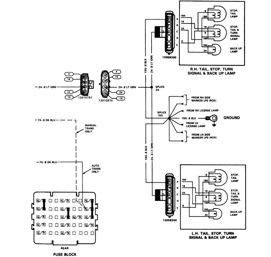 2005 chevy truck reverse light wiring diagram