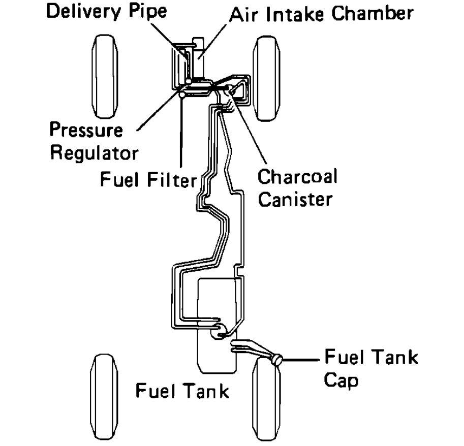 toyota celica fuel filter change