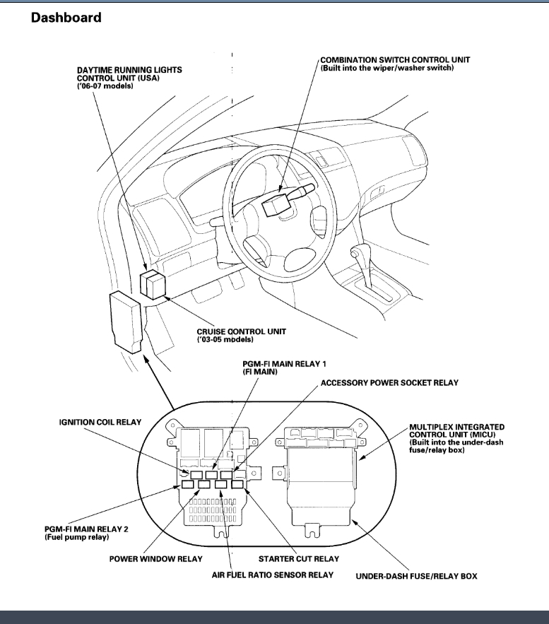 honda accord ecm wiring diagram