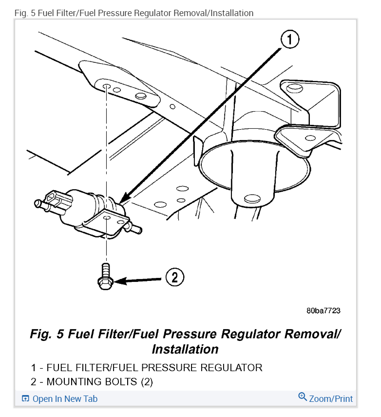1998 jeep grand cherokee fuel filter
