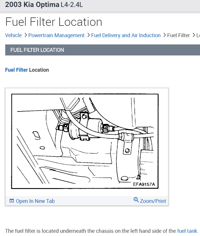 Fuel Filter Where Is the Fuel Filter Located and How Do You